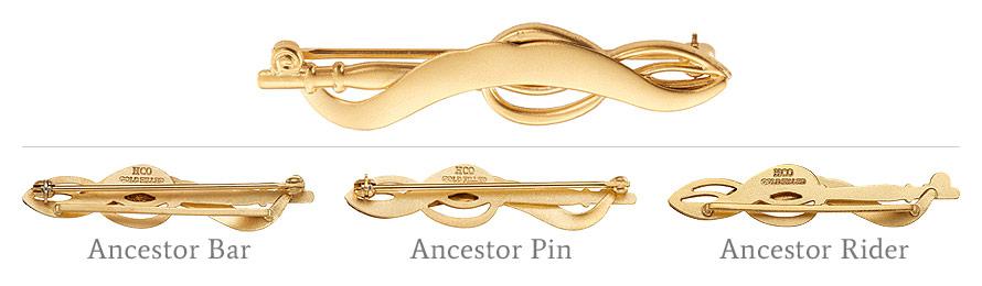 Ancestor Bar and Pin