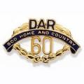 60 Year Pin