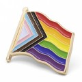 All Inclusive Gay Pride Flag Pin