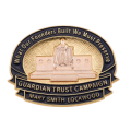 14K DAR Guardian Trust Campaign Pin - Mary Smith Lockwood