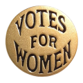 * NEW Women's Suffrage Right to Vote Pin