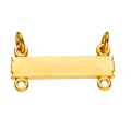 14K Chapter Officer Bar