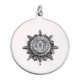 DFPA Disc Charm - Silver