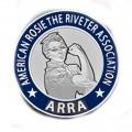 ARRA Lapel Pin Silver Plate