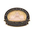 14K DAR Guardian Trust Campaign Pin - Ellen Hardin Walworth