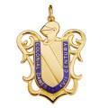 CDXVII Heraldry Charm
