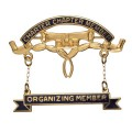 Charter Chapter Member Pin with Organizing Member Bar