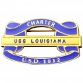 1812 Charter Chapter Member - Enameled