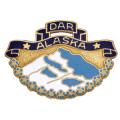 AK State Pin