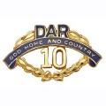 14K 10 Year Pin