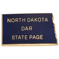 North Dakota State Page Pin
