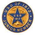 1812 Junior Pin