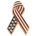 American Flag Ribbon Pin
