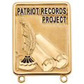 Patriot Records Project Pin