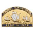 14k 1492 Columbus Quincentennial
