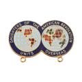 14K Units Overseas Pin