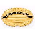 14K DAR Oval State Chairman