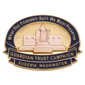 14K Guardian Trust Campaign Pin - Eugenia Washington