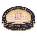 14K DAR Guardian Trust Campaign Pin - Mary Desha