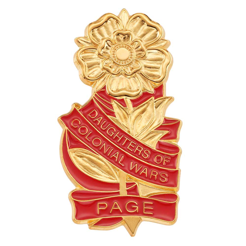 DCW National Page Pin - Hamilton Insignia