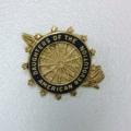 14K DAR Unpierced Recognition Pin