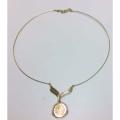 14K DAR Wire Necklace
