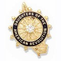 14K Recognition Pin with Diamond