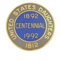 1812 Centennial Pin