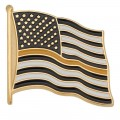 Thin Yellow Line American Flag