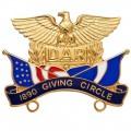 1890 Giving Circle Pin