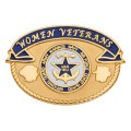 1812 Women Veterans Pin 14K