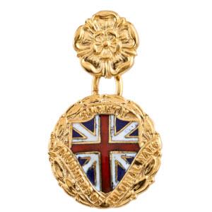 Daughters of Colonial Wars Miniature - Hamilton Insignia