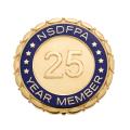 DFPA 25 Year Member