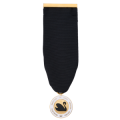 ADEAW Insignia on 1 1/4 Black Ribbon