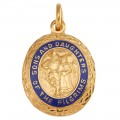 14k Sons & Daughters of Pilgrims Miniature Emblem for Ribbon