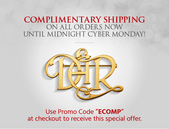 Free shipping now through Cyber Monday