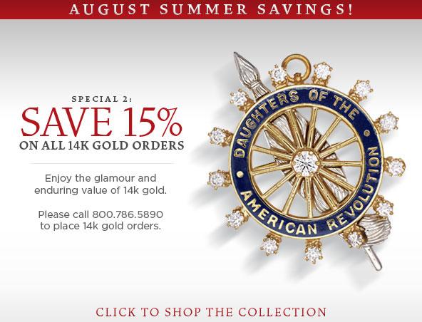 15% 14k gold items
