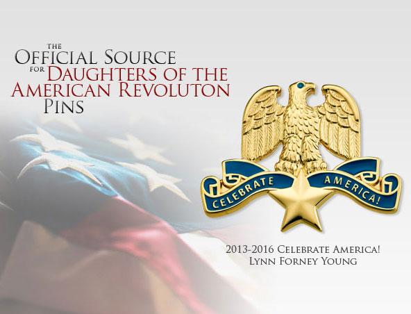 Celebrate America Pin