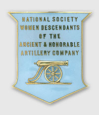 Women Descendents of Ancient and Honorable Artillery Company