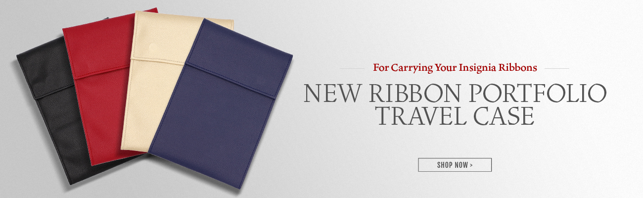 New ribbon portfolio case