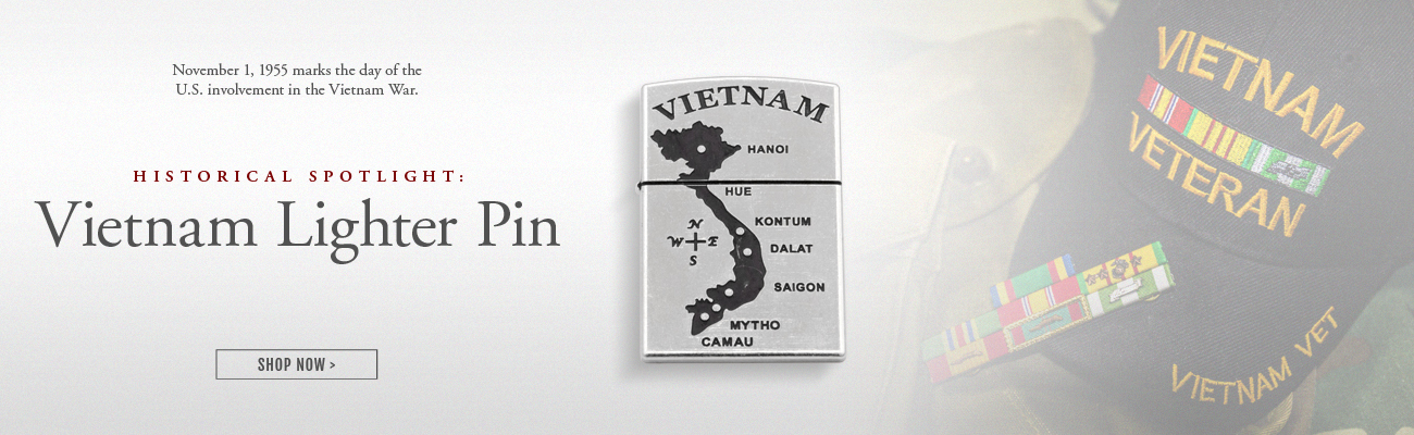 Vietnam Lighter Pin